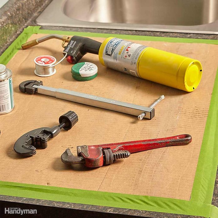 Cover the Countertops