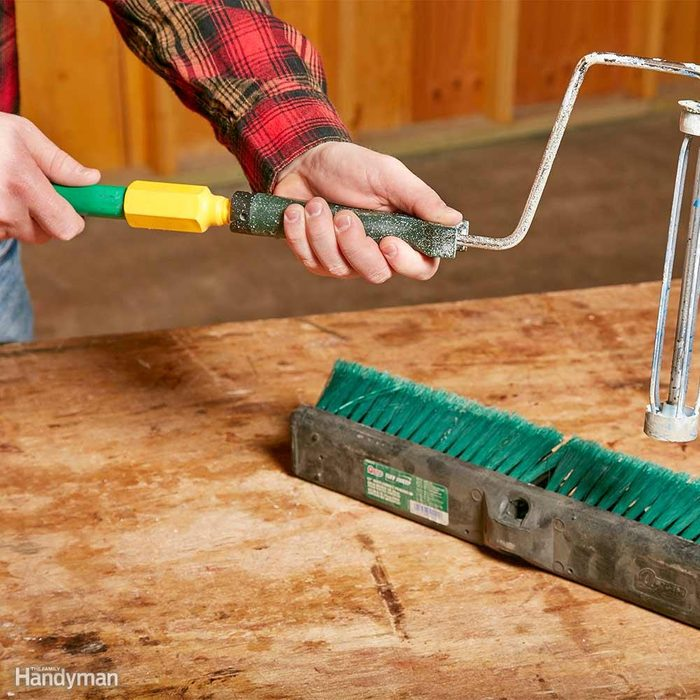 A Push Broom Handle Reaches New Heights