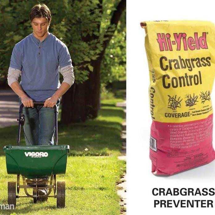 Apply a Preemergent Herbicide