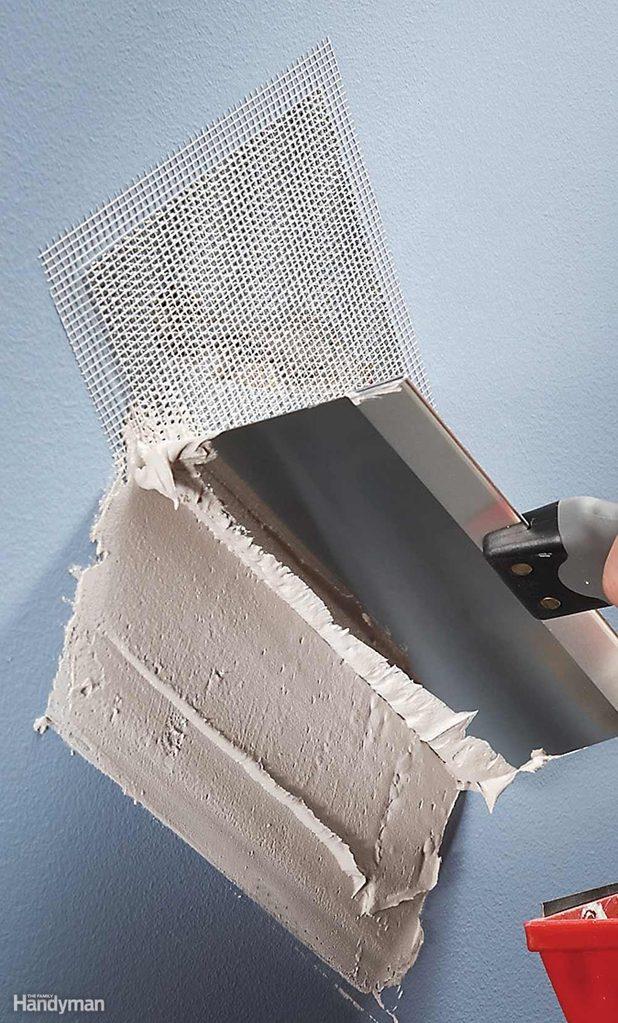 Self-Sticking Hole Patch