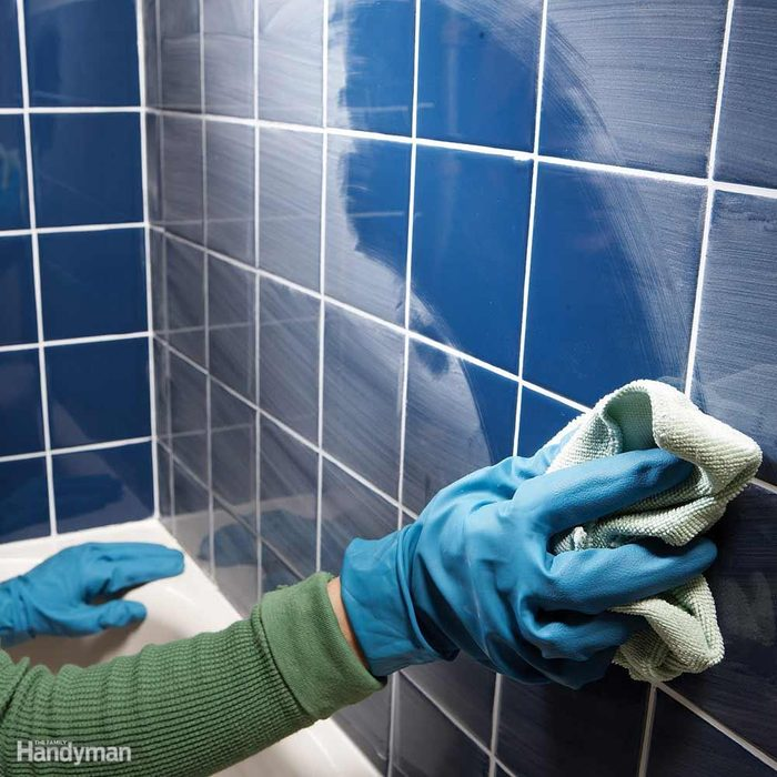 Easier Grout Haze Cleanup