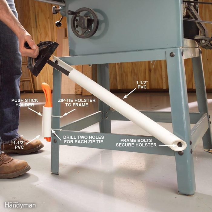 Quick-Draw Table Saw Accessories