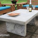 Build an Outdoor Table with Quikrete Countertop Mix