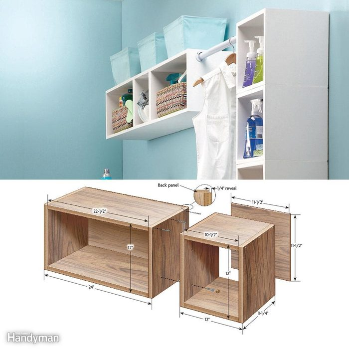 Pretty and Practical Box Shelves