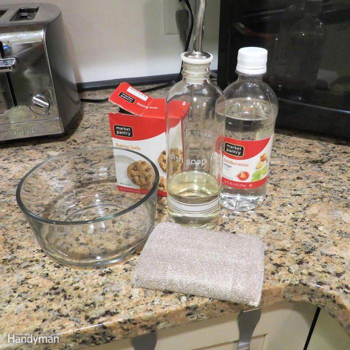 Make a Baking Soda Paste