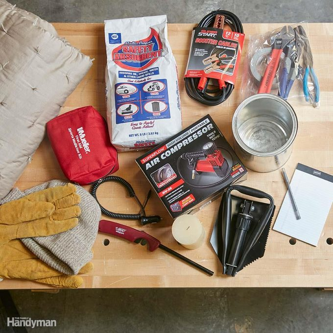 Make a Winter Driving Kit