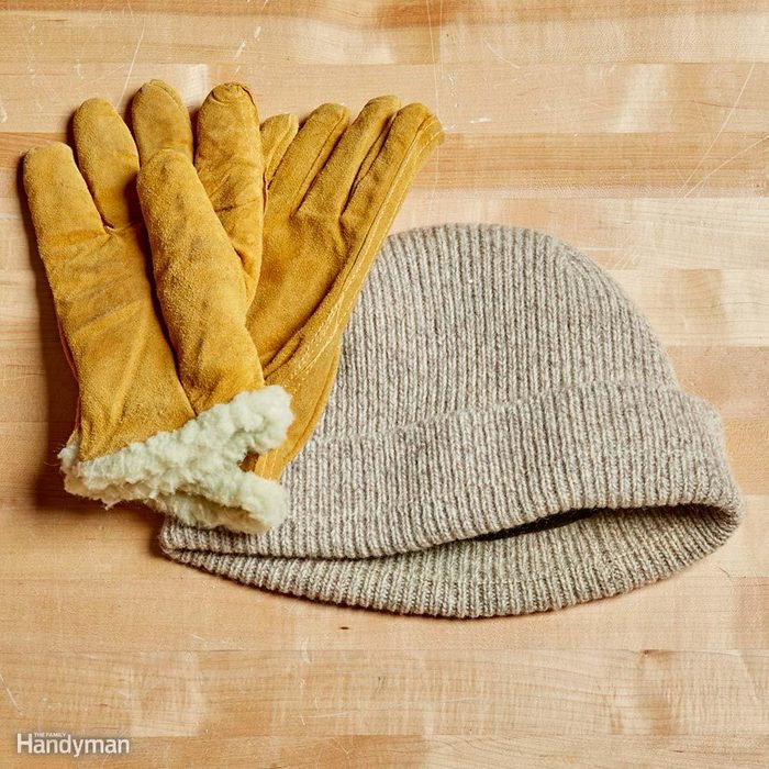 Warm Hat and Gloves