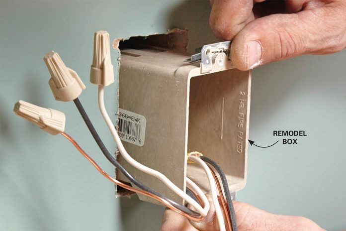 install new electrical box