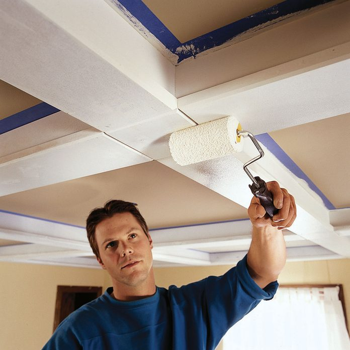finish the ceiling beams