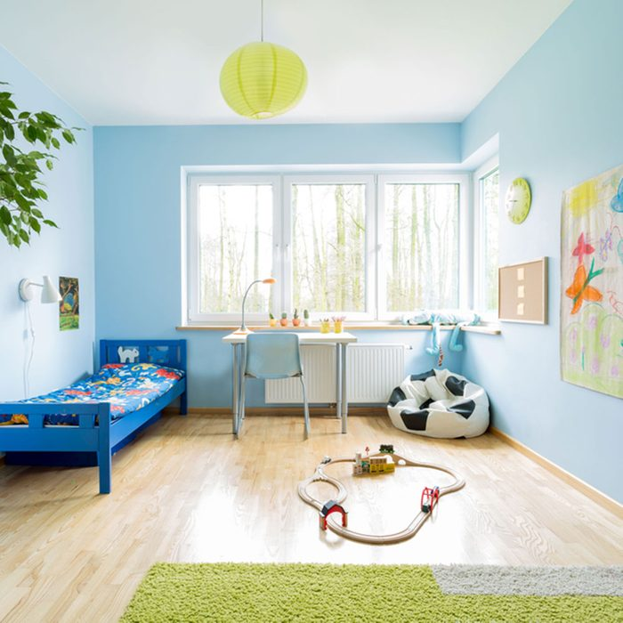 Small Room Ideas: Light-Colored Flooring