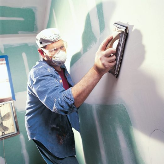how to sand drywall sanding drywall without dust