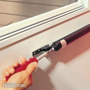 Adjusting a Storm Door Closer
