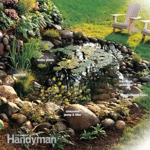 How to Build a Water Garden With Waterfall