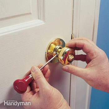 Repairing a Loose Door Handle