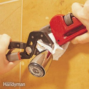 How to Clean Showerheads