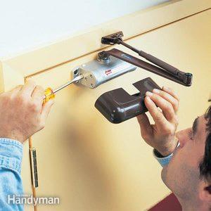 Self-Closing Door: Making an Existing Garage Service Door Automatic