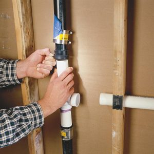 How to Connect a PVC Pipe to ABS Pipe