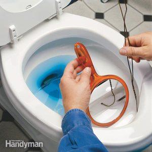 How to Clean a Sluggish Toilet