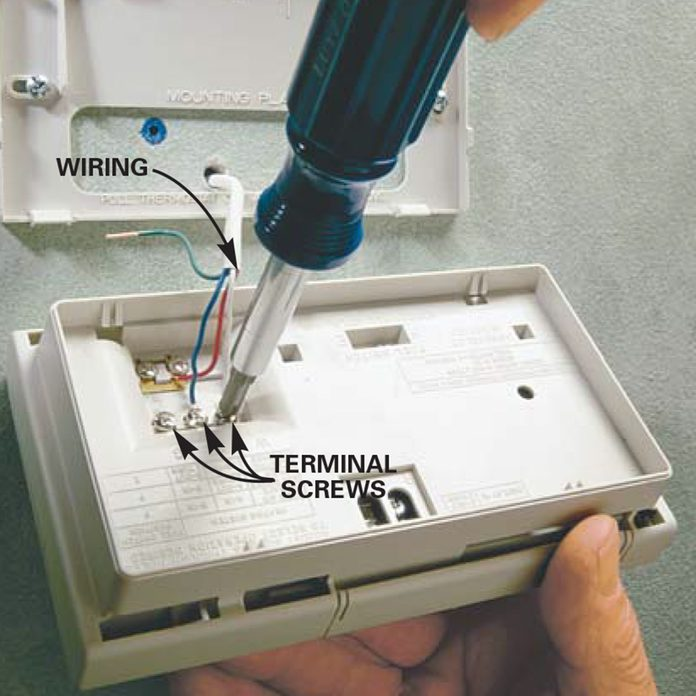 install new thermostat