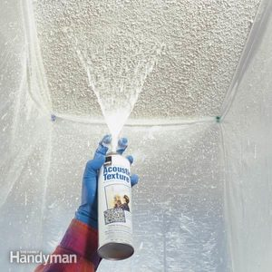 Patch a Water-Stained Ceiling or Textured Ceiling