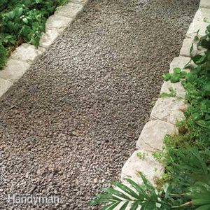 Planning a Backyard Path: Gravel Paths