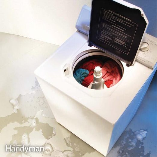 washing machine leaking water front load washer leaking