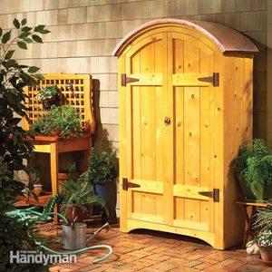 How to Build a Pine Garden Hutch