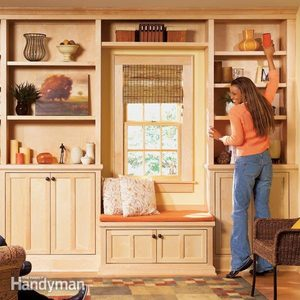 Window Seat Bookcase: Stylish Shelves