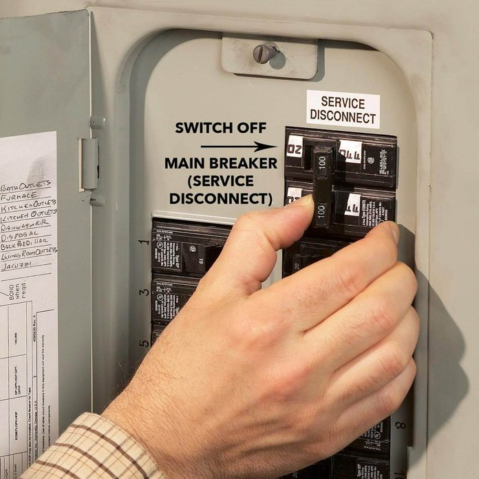 how to turn off the main breaker