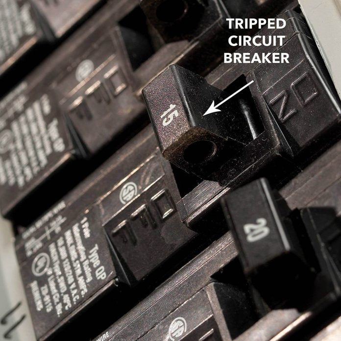 how to find a tripped circuit breaker diagram
