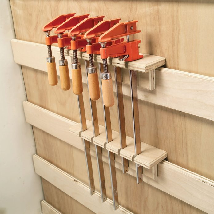 clamps storage