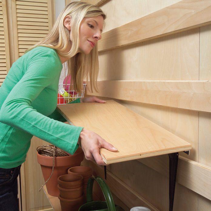 hang plates and shelves