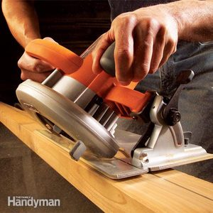 Making Circular Saw Cuts