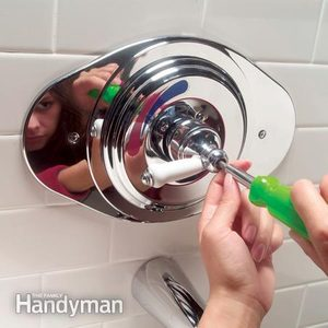 How to Replace a Two-Handle Shower Valve With a Single-Handle Unit