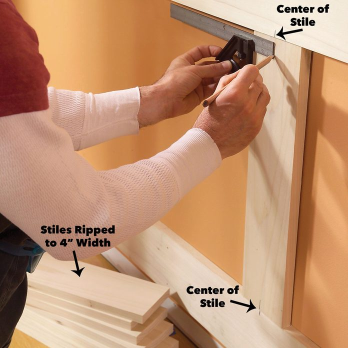 mark the stiles wainscoting