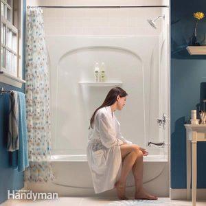 How to Install a Bathtub: Install an Acrylic Tub and Tub Surround