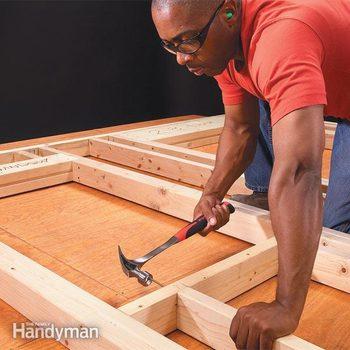 framing-a-wall wood framing basics