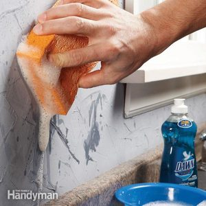 Remove Oil Stains From a Faux Plaster Finish