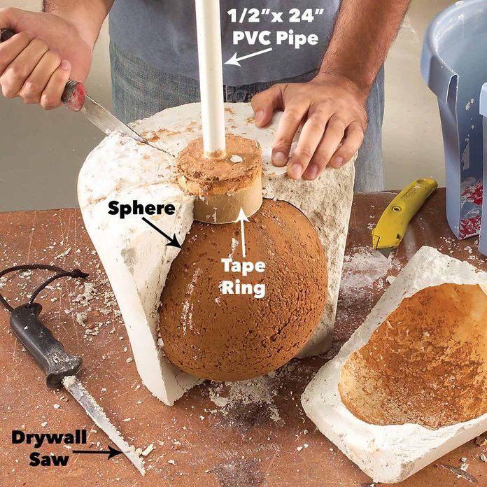 break sphere form