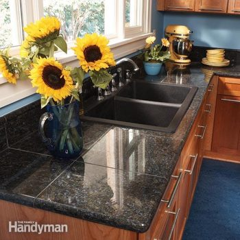 how to install granite tiles