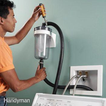 washing machine lint trap