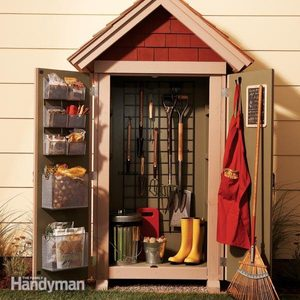 Garden Closet Storage Project