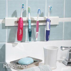 Magnetic Toothbrush Holder