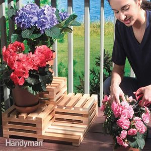 Make Your Own Tiered Plant Stand