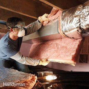 Save Money by Insulating Crawl Space Ducts
