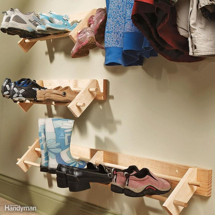 Build a Shoe Organizer