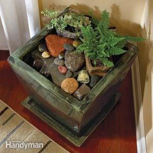 Build an Indoor Water Fountain