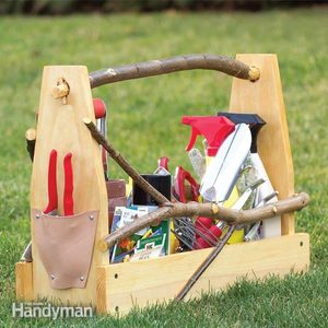 Store Garden Hand Tools: Make a Handmade Toolbox