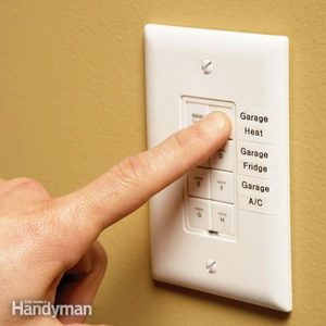 Control Garage Electrical Devices Remotely