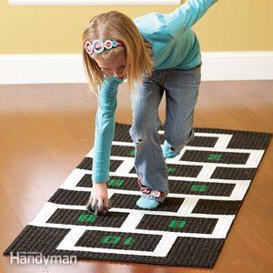 Indoor Games: Hopscotch